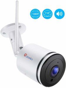 caméra de surveillance extérieur Citronics