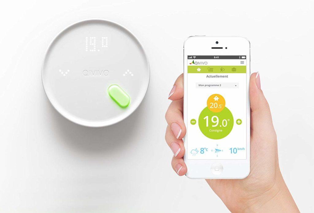 Le thermostat connecté Qivivo