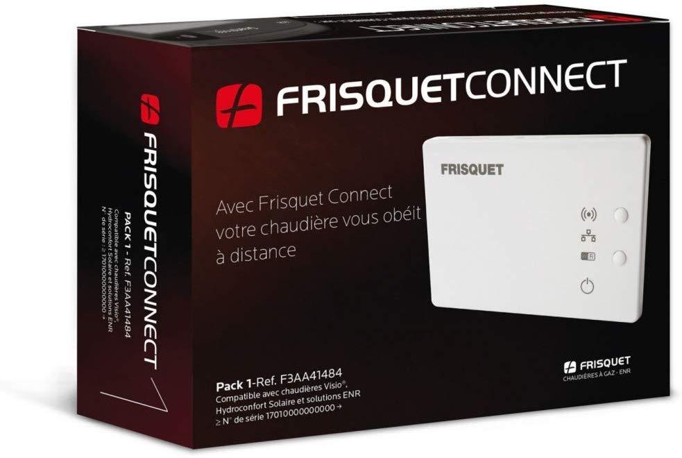 Le thermostat connecté Box Frisquet Connect pack 1