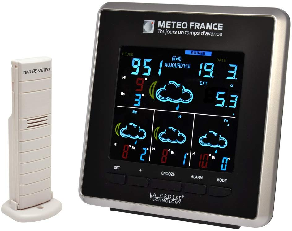 La station météo sans fil La Crosse Technology WD4025