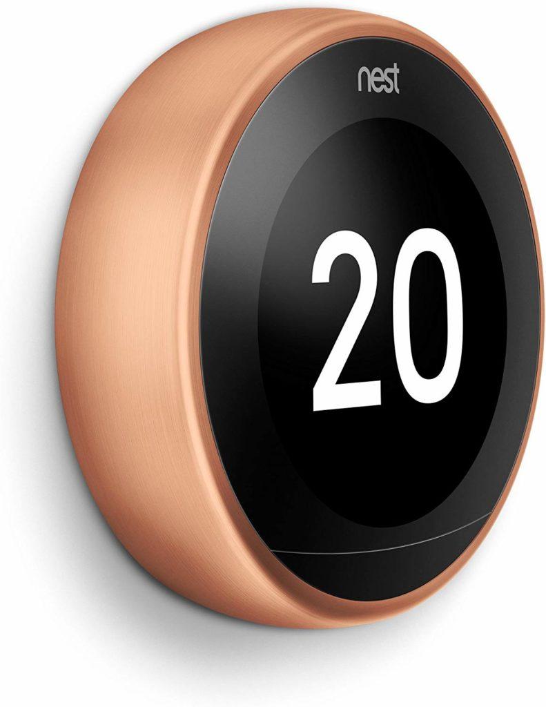Le thermostat connecté Nest Learning Thermostat, 3ème génération