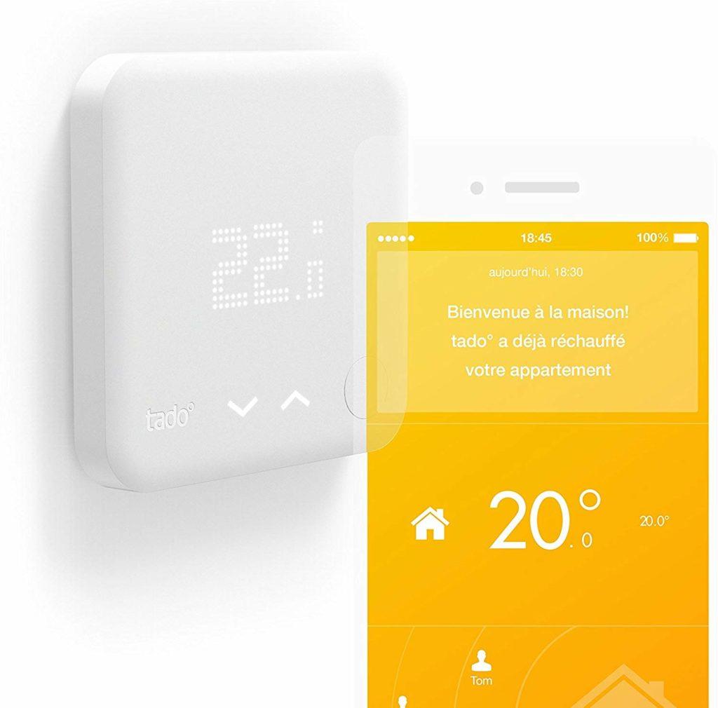 Le thermostat connecté Tado kit de démarrage V2