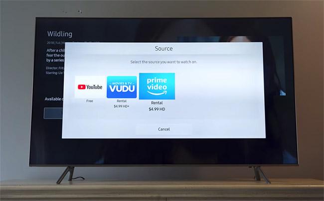 samsung tv 4k connectée