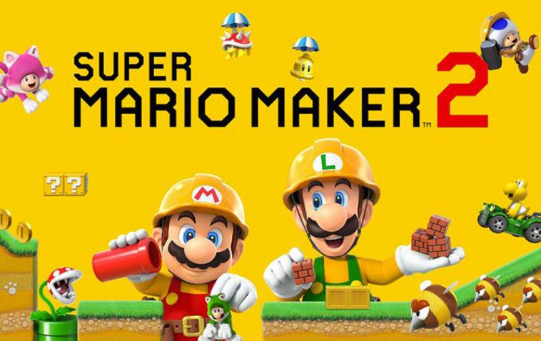 super mario maker 2 promo