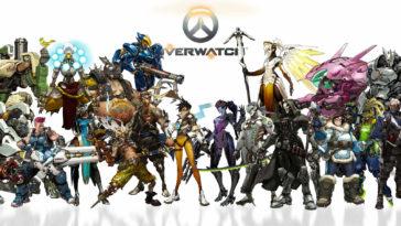 personnages du jeux vidéo Overwatch